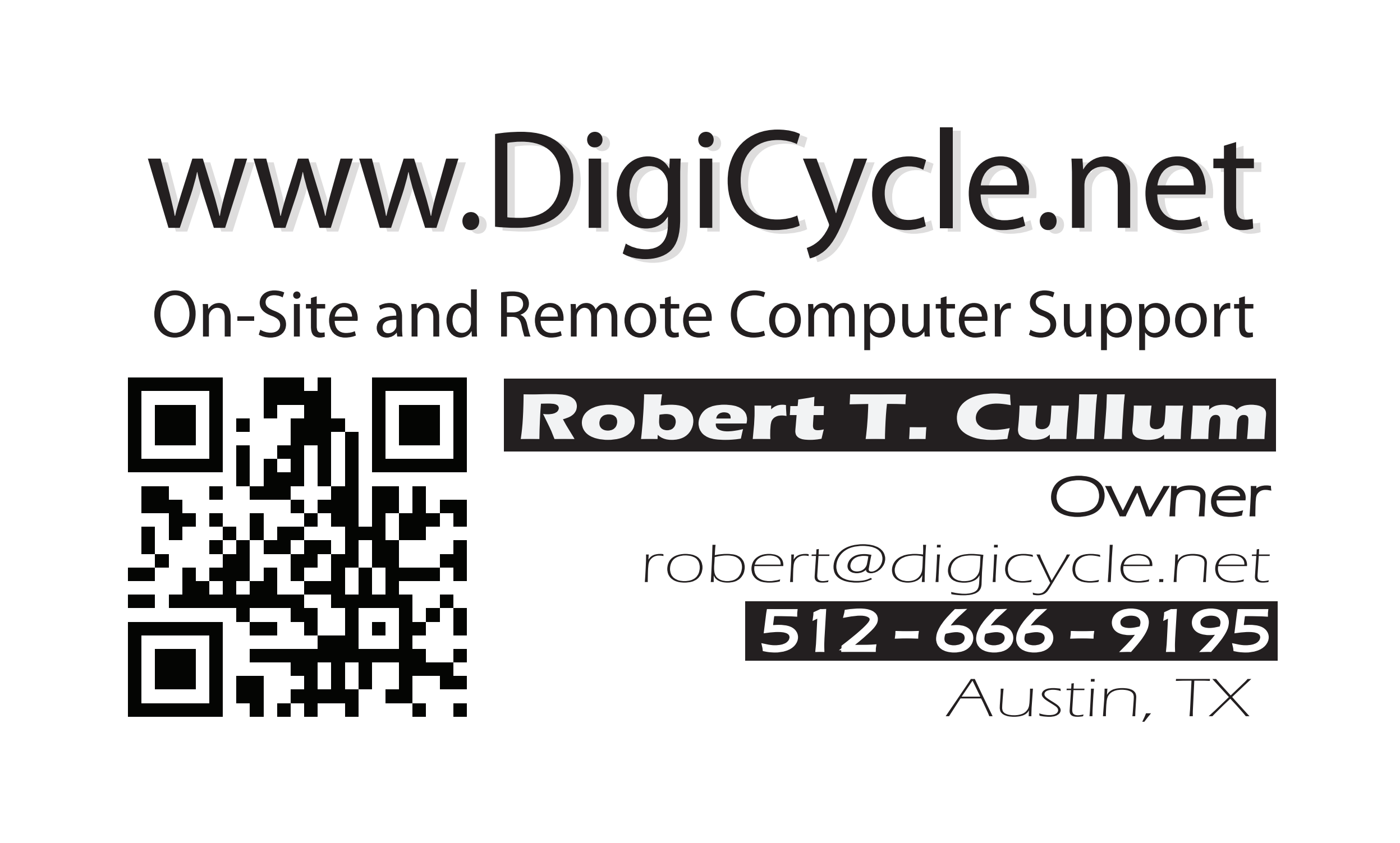 Business card 2015 Banner