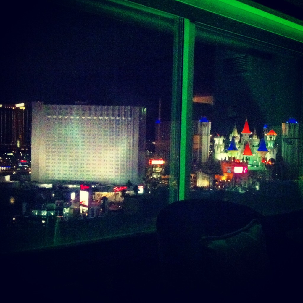 View from the MGM
